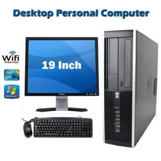 HP Elite 8000 SFF Desktop Computer PC